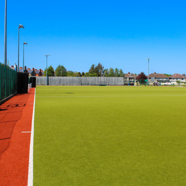 View on YMCA Dublin football field which is located in Dublin 4 Sandymount. This pitch is available for rent from Mondays to Saturdays.