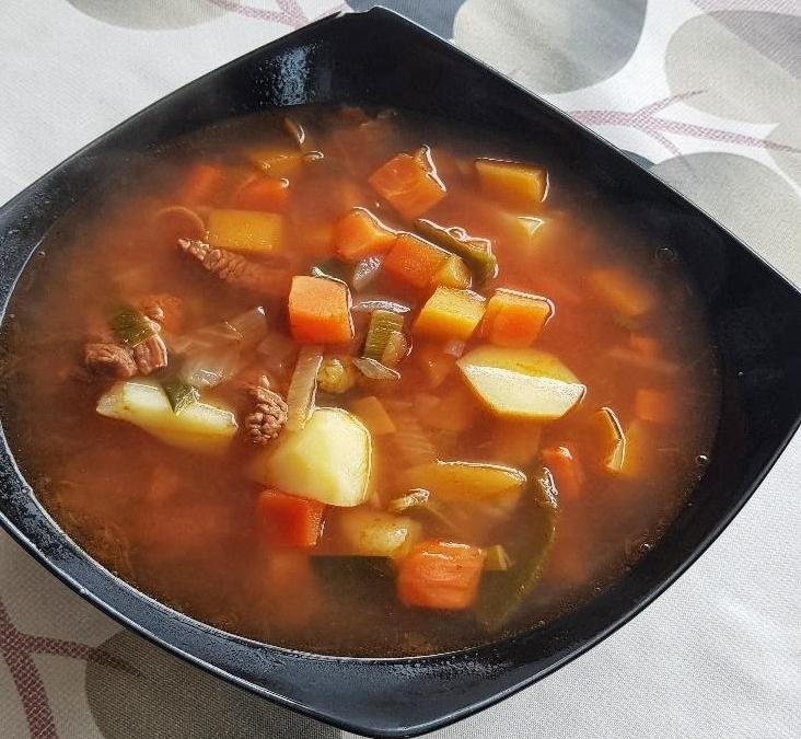 Transylvanian Beef and vegetables soup